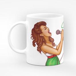 """Чаша """"Специален поздрав за"""" - подарък за Атанасовден"""