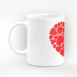 """Чаша """"Сърце"""" - подарък за Свети Валентин"""