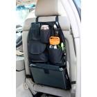 Органайзер за седалка на кола  с 6 отделения + дръжка за чадър