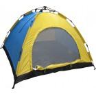 Автоматична палатка за четирима души - еднослойна, саморазгъваща се