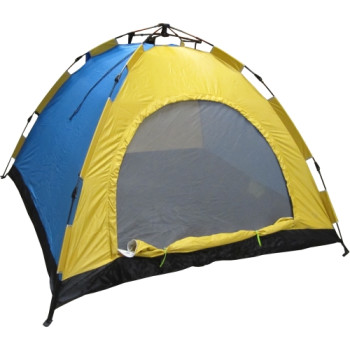 Автоматична палатка за петима души - еднослойна, саморазгъваща се