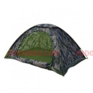Евтина камофлажна палатка за двама човека - еднослойна