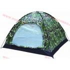 Евтина камофлажна палатка за четири човека - еднослойна