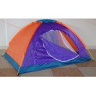 Евтина палатка за двама до трима човека - двуслойна