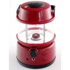 Портативно радио с лампа - червено