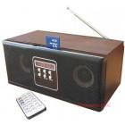 Преносимо радио с USB, четец за карти и дистанционно