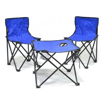 Комплект сгъваема  маса и столове за къмпинг