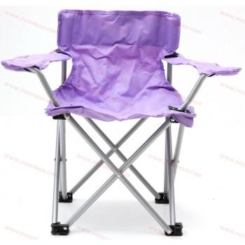 Туристически стол с облегалка и подлакътник сгъваем