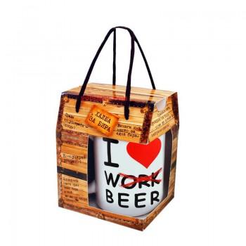 Халба за бира с различни забавни надписи