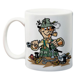 """Чаша - """"Баш Майстор Рибар"""" - подарък за Никулден"""