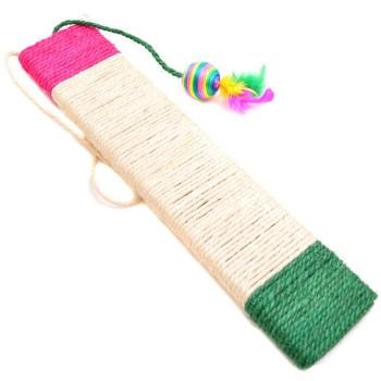 Забавна котешка играчка с чесалка