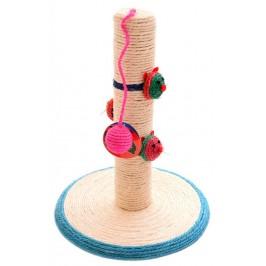 Забавна играчка за котка с топка, мишки и чесалка