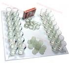 Алкохолен шах с чашки на промоция