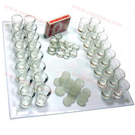 Алкохолен шах с чашки голям на промоция