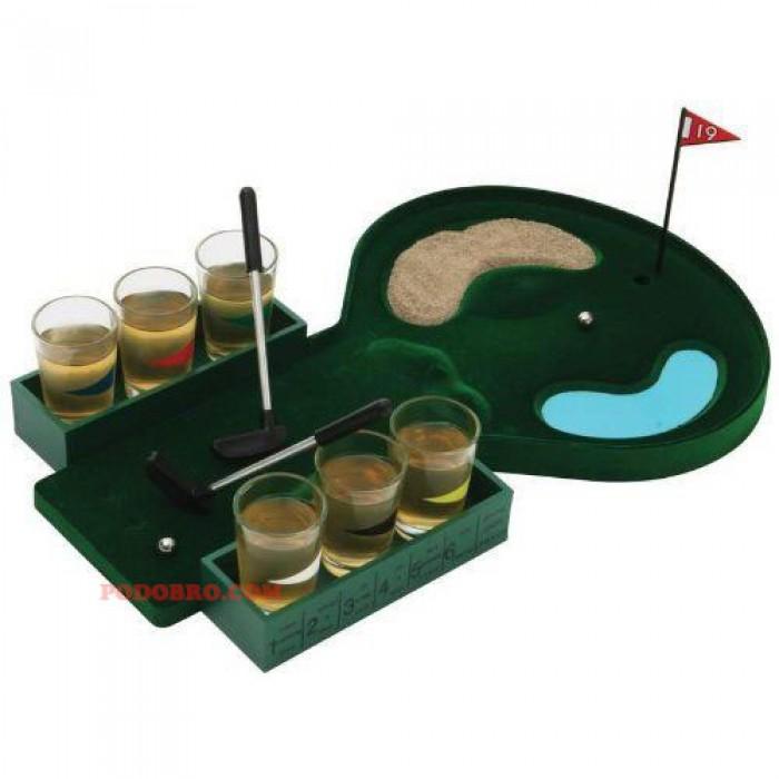Голф  игра с шот чашки