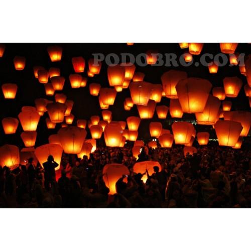 Китайски летящи фенери за пожелания