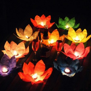 Водни  фенери - лотус