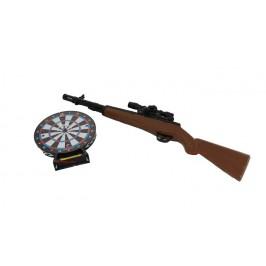 Лазерна пушка с електронна мишена
