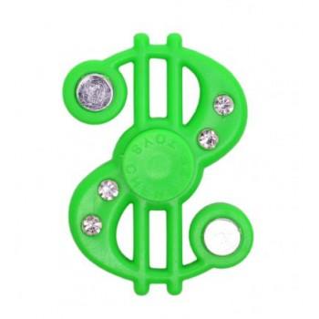 Фиджет спинер във формата на знак за долар