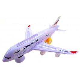 Детски самолет - светещ и музикален Airbus A380