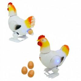Музикална кокошка, която снася яйца