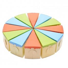 """Картонена торта """"3 цвята"""""""