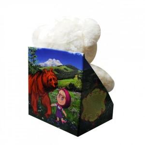 Плюшена играчка Мечо, която разказва приказка и пее песничка