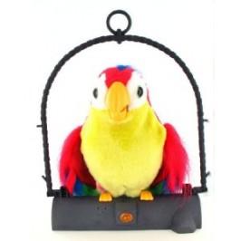 """Голям говорящ повтарящ  папагал детска играчка """"Пачо"""" на промоция"""