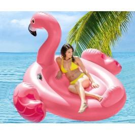Надуваем остров Розово фламинго INTEX Mega Flamingo