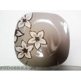 """Декоративна чиния """" Бели орхидеи"""" на цена от 20 лв."""