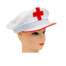 Шапка за медицинска сестра или доктор - универсална