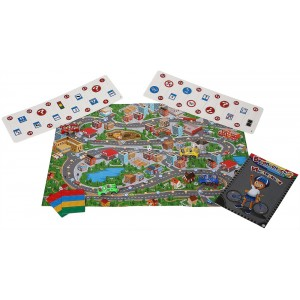 "Образователна семейна игра ""Безопасност - 2: За пешеходци и велосипедисти"""