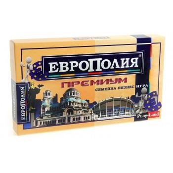 """""""Европолия Премиум"""" - икономическа семейна игра"""