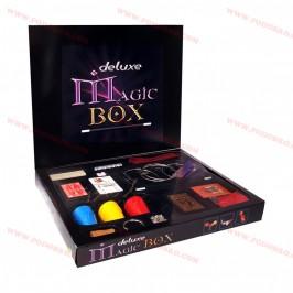 """Магическа кутия за фокуси """"Deluxe Magic Box"""" със 150 подбрани трика на промоция"""