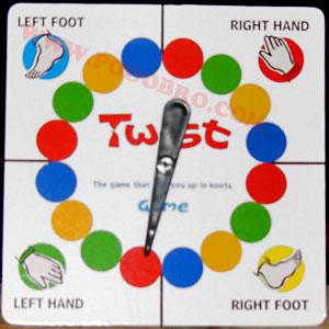 Най-забавната игра - Туист