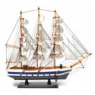 Сувенирен ветроходен кораб - макет, изработен прецизно в детайли 50 см.