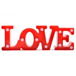 Светещ надпис LOVE - подарък за Свети Валентин