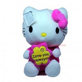 Сладко плюшено коте Hello Kitty