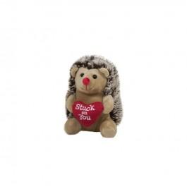 Плюшена играчка таралеж със сърце