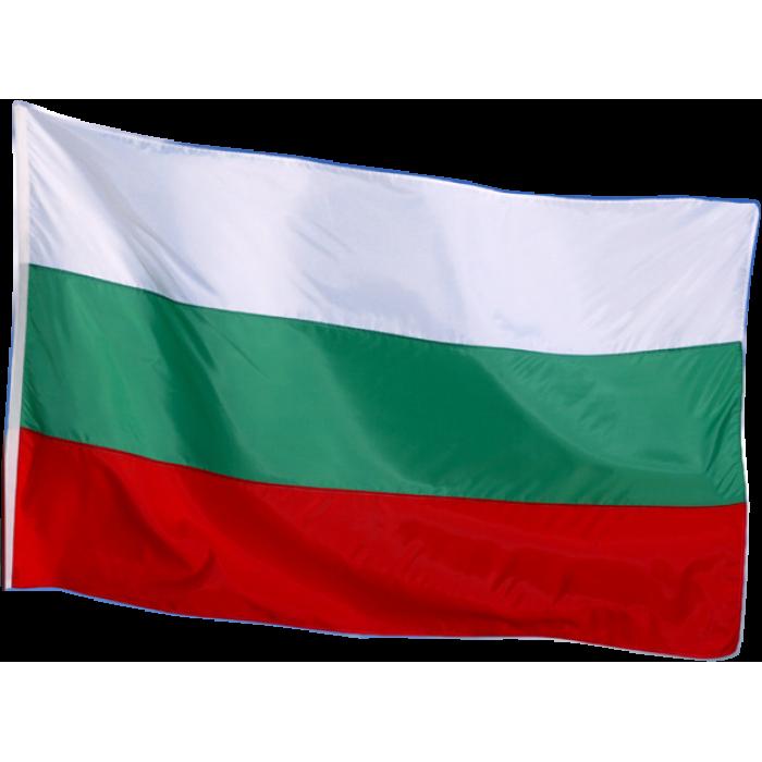 Българско знаме голямо 90/150 см. на промоция