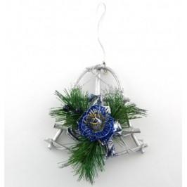 Декоративна коледна украса камбанка