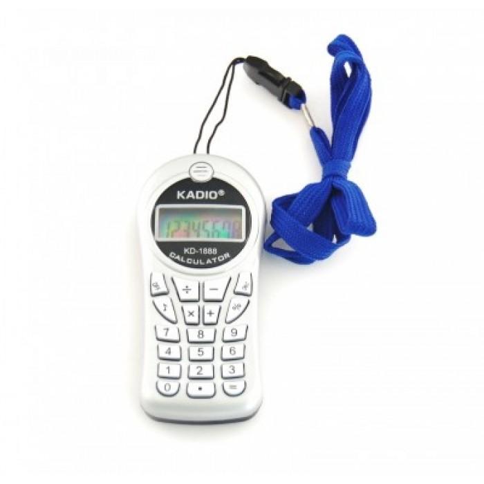 Електронен калкулатор с форма на GSM с връзка за врата
