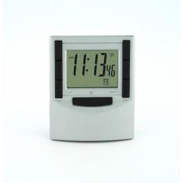Настолен електронен часовник с прозрачен, супер тънък дисплей