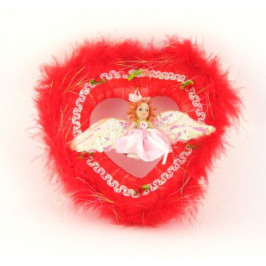 Декоративно сърце - 20см