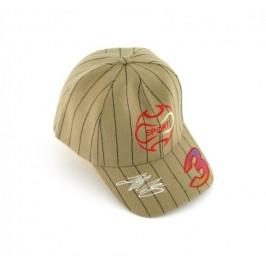 Спортна шапка от плат с козирка