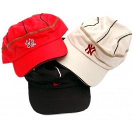 Лятна шапка текстил с козирка и подвижна горна част