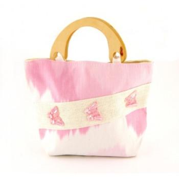 Плетена лятна чанта - 26х32см