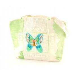 Плетена лятна чанта - 35х46см