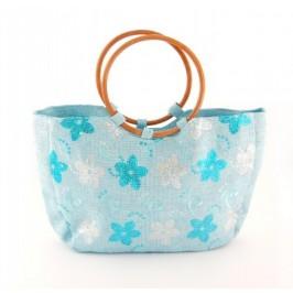 Плетена лятна чанта - 29х38см