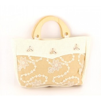 Плетена лятна чанта - 27х35см